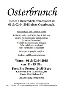 Osterbrunch Din 4 2018